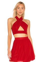 House Of Harlow X Revolve Jules Top Red