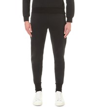 Sandro Free Stretch Cotton Jogging Bottoms Black