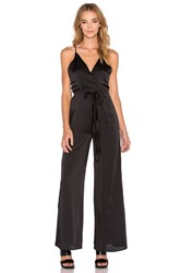 Wyldr Vida Wide Leg Jumpsuit Black