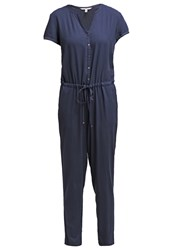 Tom Tailor Denim Jumpsuit Total Eclipse Blue Dark Blue