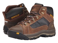 Caterpillar Convex Mid Steel Toe Dark Beige Men's Work Boots Brown