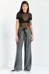 Silence And Noise Phoebe Wide Leg Trouser Grey