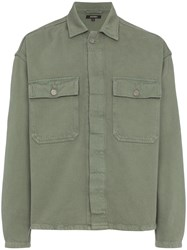 Yeezy Season 6 Workwear Shirt Green