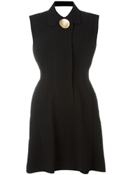Opening Ceremony Open Back Skater Dress Black