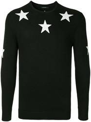 Guild Prime Stars Knit Sweater Black