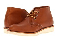 Red Wing Shoes Work Chukka Oro Iginal Men's Lace Up Boots Brown