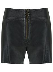 Talie Nk Leather Shorts Black