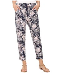 Roxy Electric Mile Jogger Pant Allo Americano Blue Print Women's Casual Pants