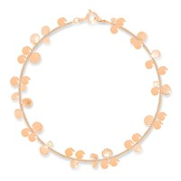 Lily Flo Jewellery Stardust Cluster Bracelet In Solid Rose Gold