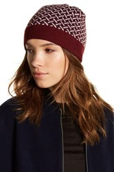 Joe Fresh Jacquard Beanie Red