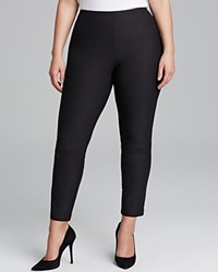 Eileen Fisher Plus Size Washable Stretch Crepe Slim Ankle Pants