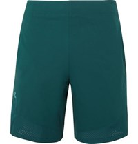 Under Armour Vanish Wide Leg Shell Shorts Teal