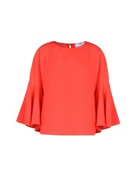 Jolie By Edward Spiers Blouses Red