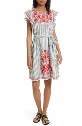 Kate Spade Women's New York Embroidered Babydoll Dress