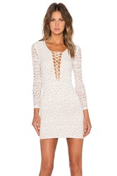 Wyldr In Too Deep Bodycon Dress White