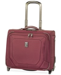 Travelpro Crew 10 Rolling Carry On Tote Merlot