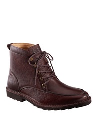Tommy Bahama Glenrock Leather Boots Ebony