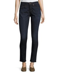Eileen Fisher Organic Skinny Ankle Jeans Utility Blue