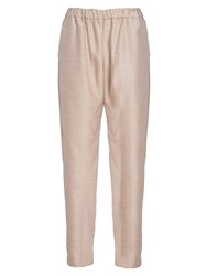 French Connection Ava Suiting Trousers Oatmeal Melange