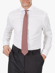 Jaeger Motion Slim Fit Formal Shirt White