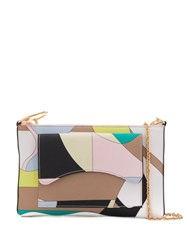 Emilio Pucci Vallauris Print Shoulder Bag Green