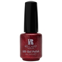 Red Carpet Manicure Led Gel Nail Polish Glitter And Metallics Collection 9Ml Only In Hollywood