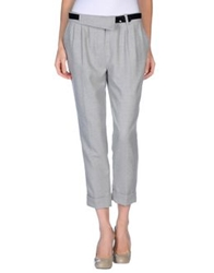 Fracomina Casual Pants Light Grey