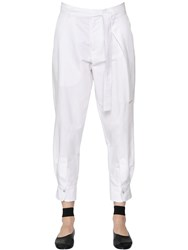Nehera Cotton And Silk Twill Pants