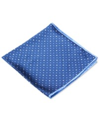 Club Room Dots Pocket Square Only At Macy's Blue