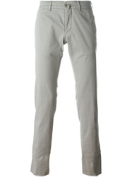 Lardini Slim Fit Chinos Grey