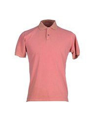 Alpha Studio Topwear Polo Shirts Men Pastel Pink