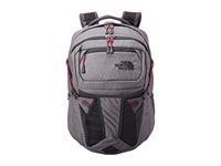 The North Face Women's Recon Zinc Grey Heather Dramatic Grey Backpack Bags Gray