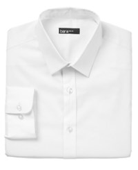 Bar Iii Slim Fit Solid Dress Shirt Only At Macy's White