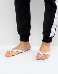 Versace Jeans Flip Flop In White White