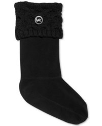 Michael Michael Kors Cable Knit Boot Sock Liners Women's Shoes