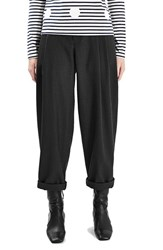 Topshop Women's Boutique Twill Wool Trousers