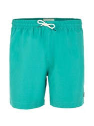Racing Green Baildon Plain Swim Shorts Green