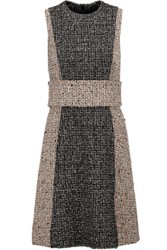 Proenza Schouler Belted Boucle Tweed Dress Multi