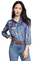 Baandsh Ba Sh Room Blouse Blue