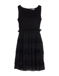 Lucky Lu Short Dresses Black