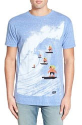 Men's Ames Bros. 'Pixel Surfers' Graphic T Shirt
