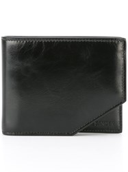 Jil Sander Cut Out Detail Wallet Black