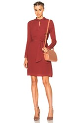 A.P.C. Meredith Dress In Red