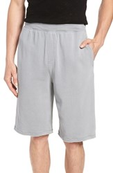 Atm Anthony Thomas Melillo Pigment Wash French Terry Shorts Faded Grey