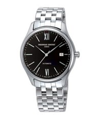 Frederique Constant Classics Index Automatic Self Wind 5Atm Stainless Steel Watch Silver