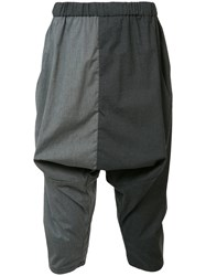Private Stock Drop Crotch Trousers Grey
