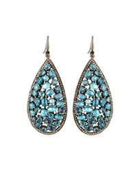 Bavna Kyanite Teardrop Earrings