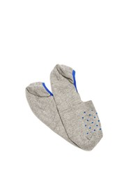 Pantherella Cotton Blend Shoe Liners Grey Multi