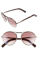 Men's Tom Ford 'Jesie' 54Mm Sunglasses Dark Brown Gradient Bordeaux