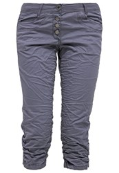 Tom Tailor Trousers Steal Blue Grey